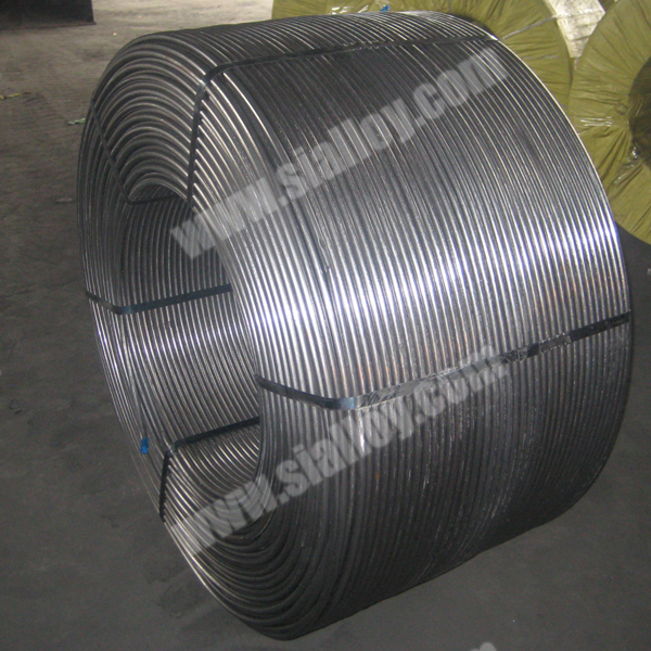 13mm C/Carbon Cored Wire Carbon Additive for Steelmaking