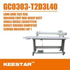 Long arm sewing machine 0303D3L40