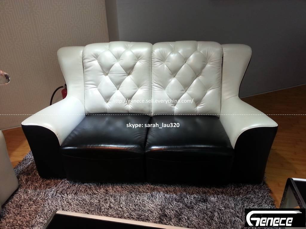 Modern Black and White Sofa Set GS030#