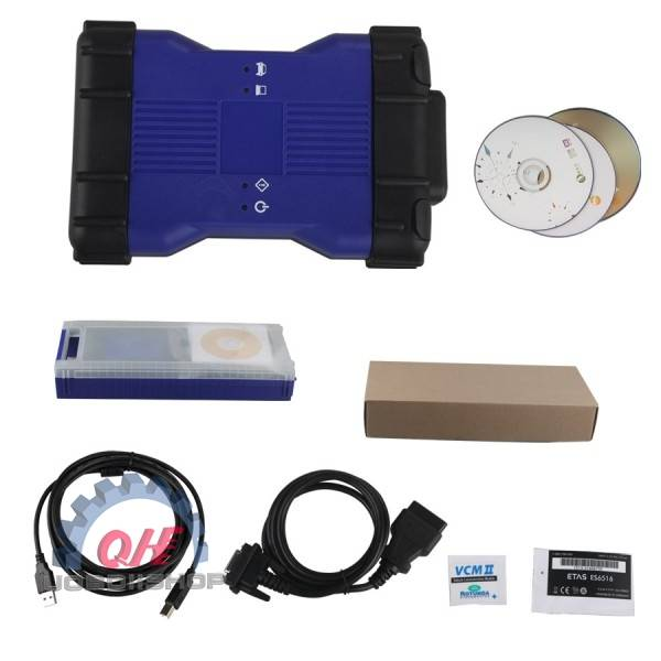 Cheap V141 VCM II for Land Rover & Jaguar Diagnose and Programming Tool Blue Color
