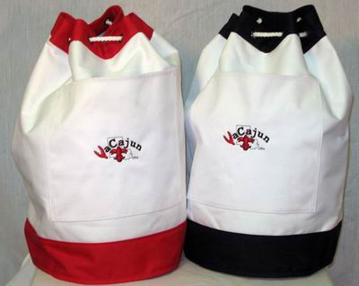 Canvas Beach Bag, Picnic Bag & Duffle Drawstring Bag