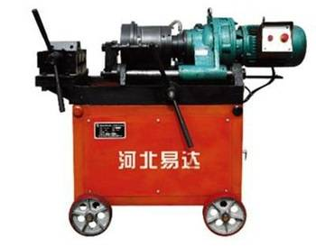 China top leading rebar rib peeling and thread rolling machine