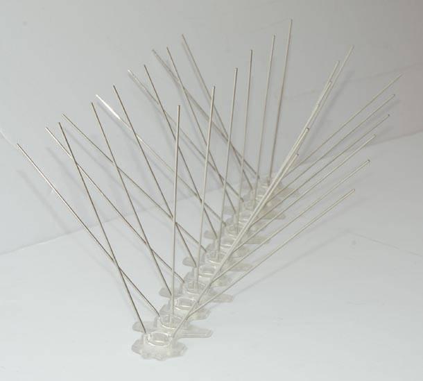 plastic base stainless steel bird spike