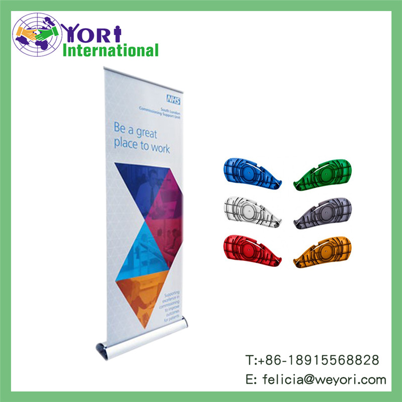 Yori aluminum alloy material and promotion advertising trade show usage roll up banner