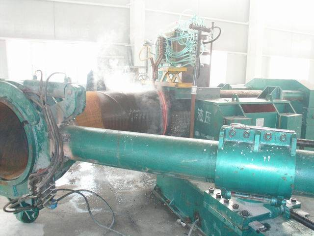 hot forming pipe bending machine