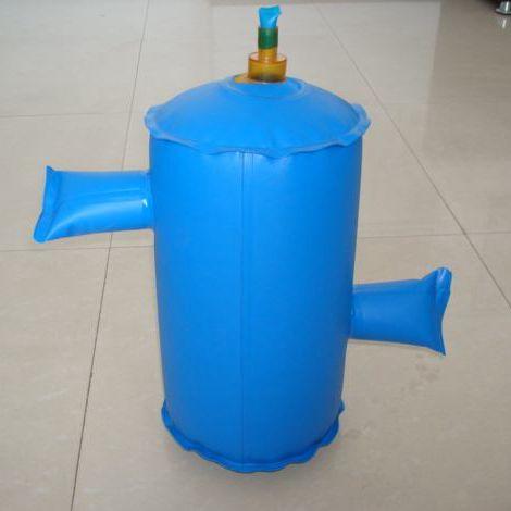 China colorful soft PVC biogas storage bag