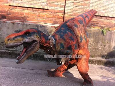 animatronic hidden legs walking t-rex dinosaur costume