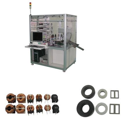 Inductors Inspection Machine
