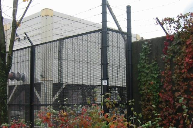 Anti-climb PVC Welded Fencing