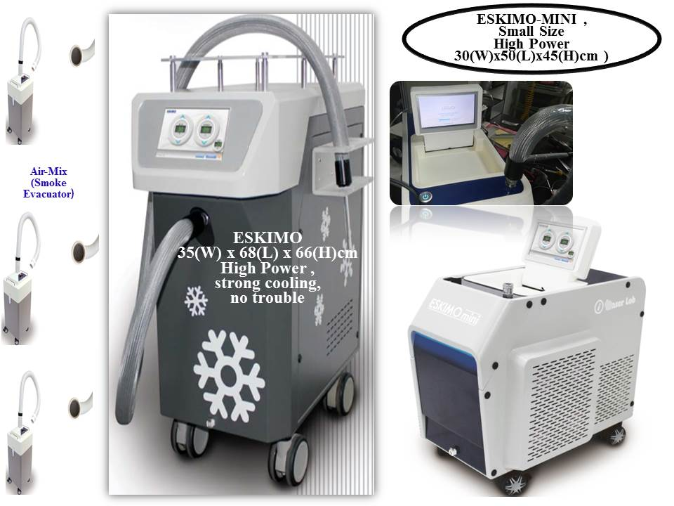 Dermatology : Cooling Machine ( ESKIMO MINI & NORMAL )