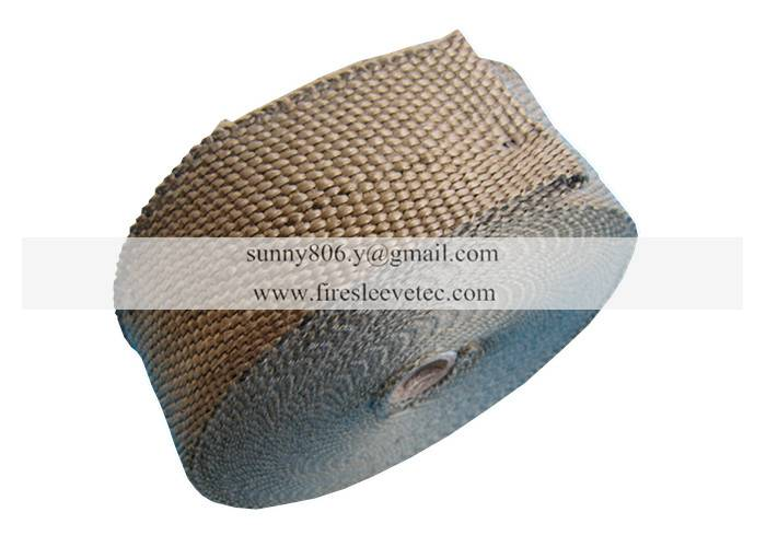 motorcycle exhaust pipe heat insulation wrap titanium