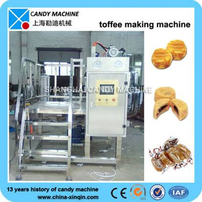 CE approved toffee candy making plant
