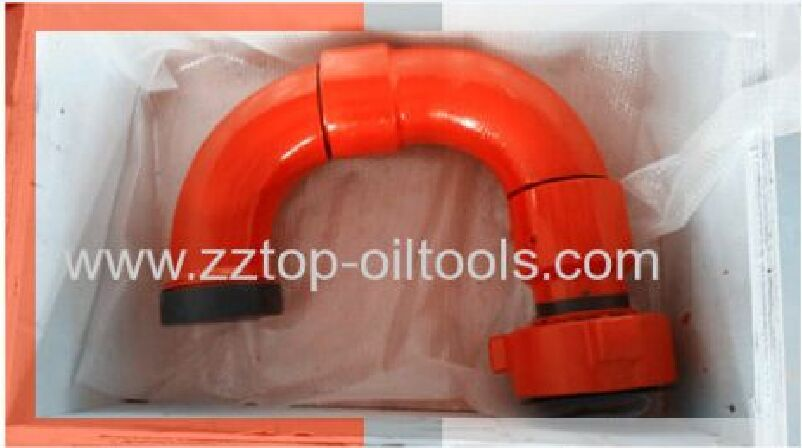 "3"" Fig 1502 Active Elbow for wellhead flow control"