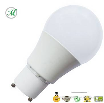 GU24 BASE A19 LED BULB 7W WARM WHITE