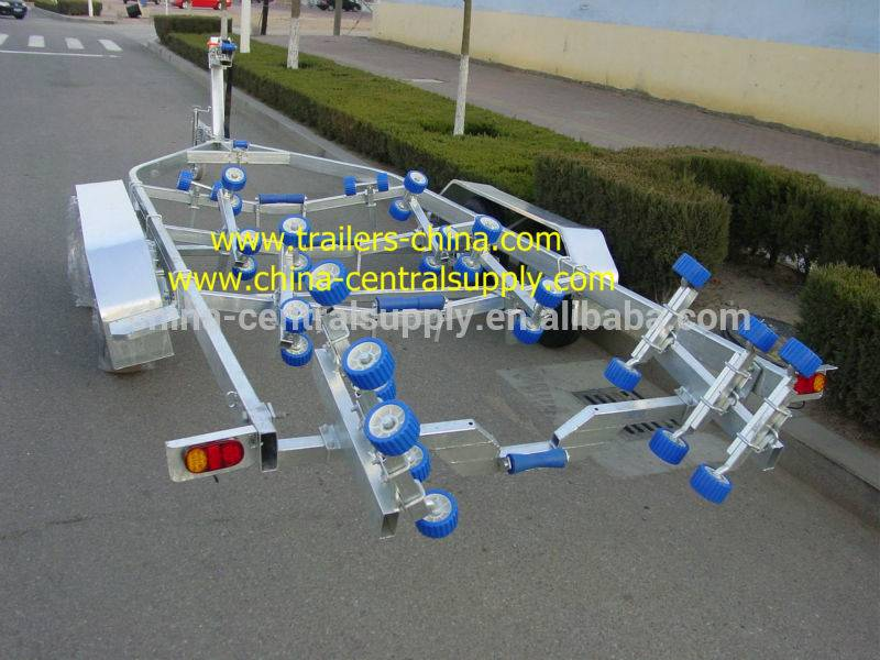 7.3m heavy-duty Boat trailer