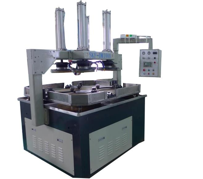 High precision single side surface lapping machine