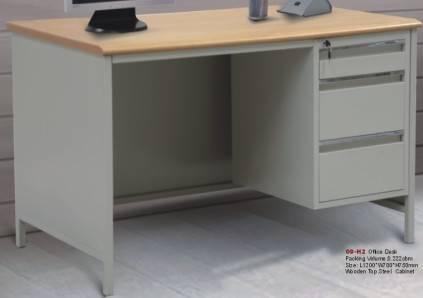CBNT wooden top steel office desk