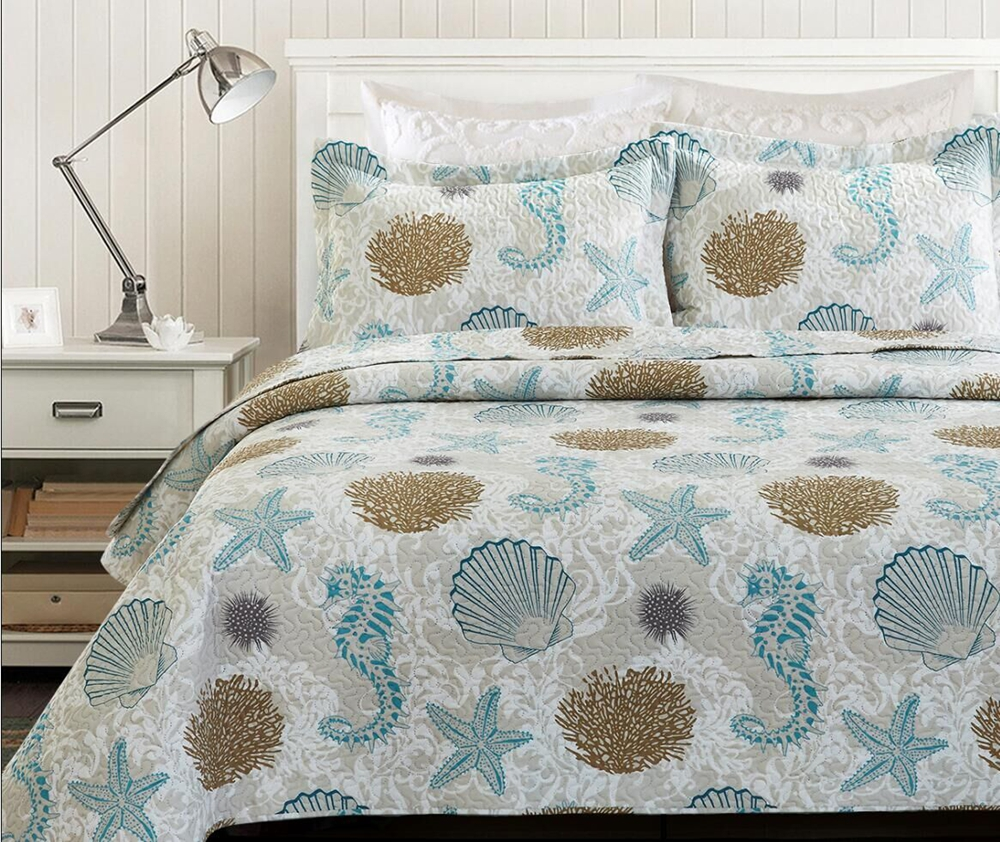 bedspread-Sea Shell H&J Industrial