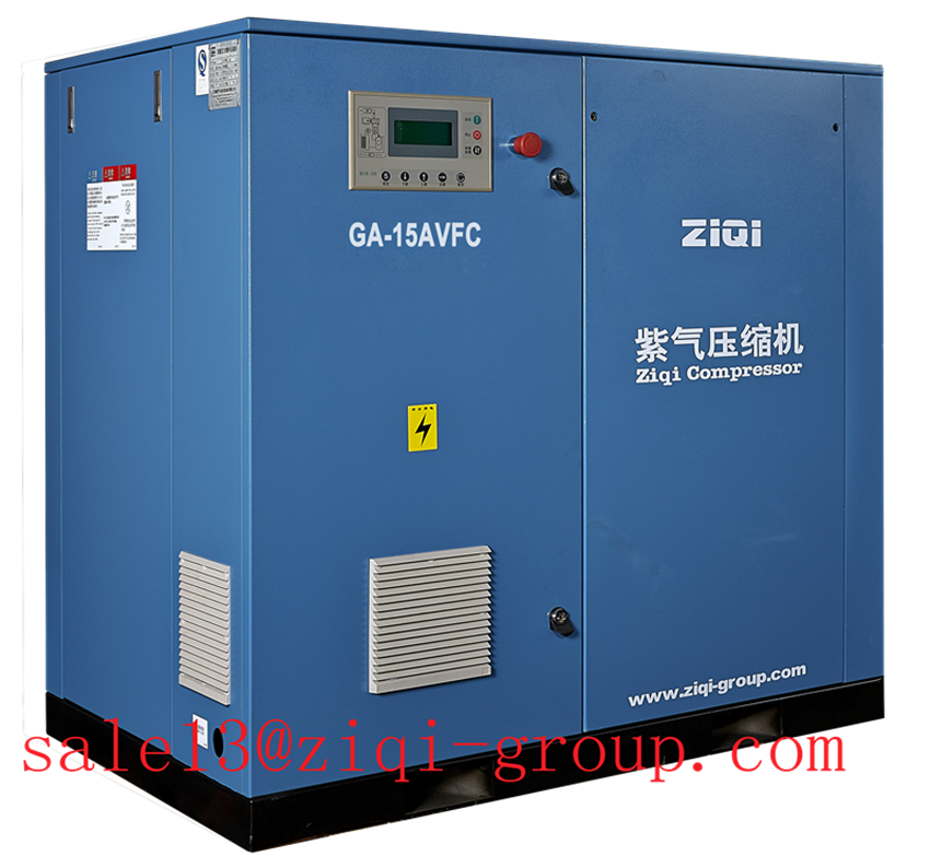AC Power Air Cooling GA Serious 15KW-55KW VFC Frequency Incerter Screw Air Compressor for Industrial