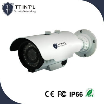H.265 Weatherproof Varifocal PoE IP