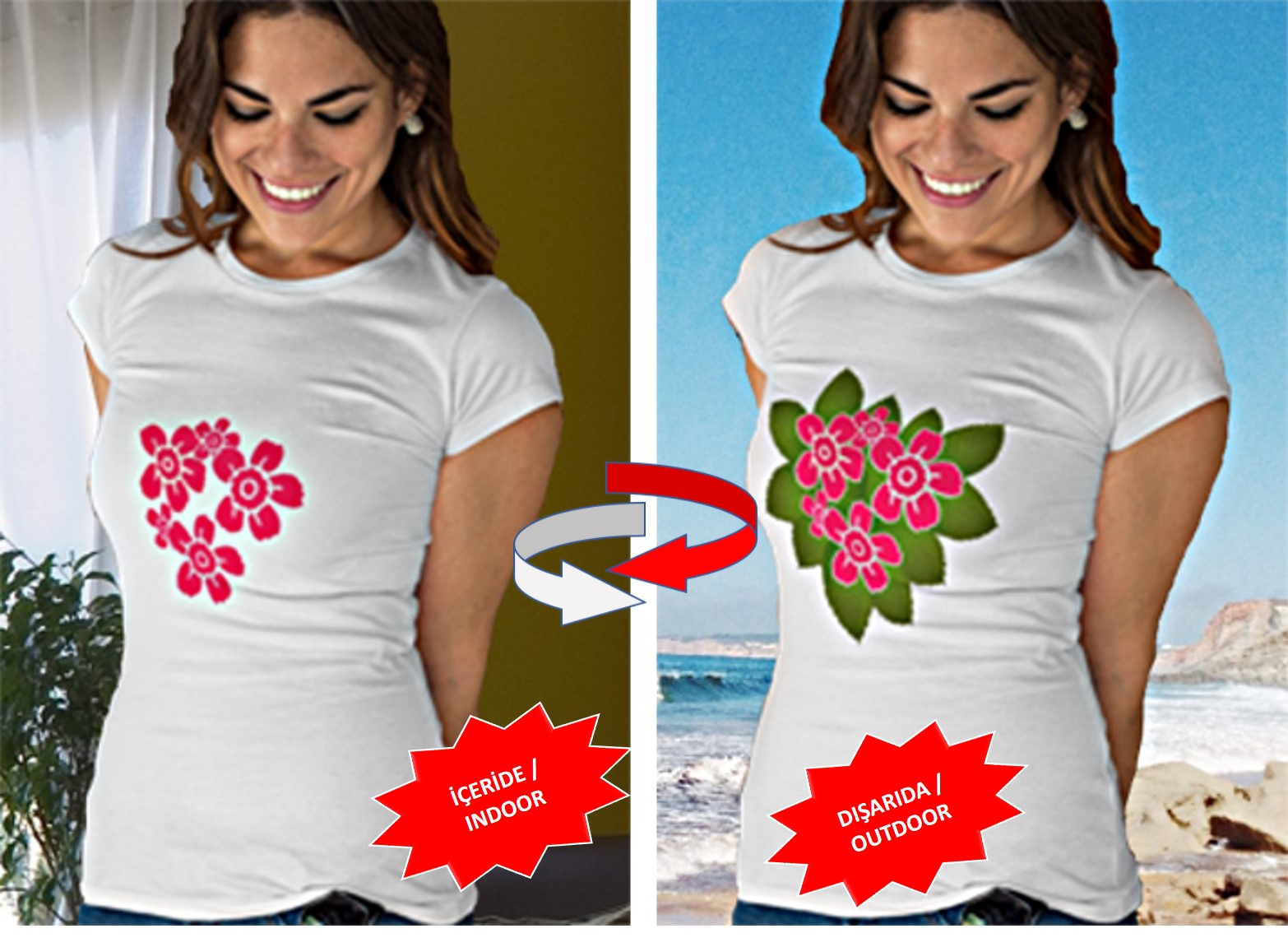 Color Changing Nano Technological T-Shirt