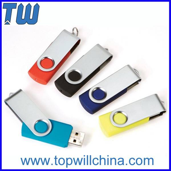 Excellent Price Swivel Usb Flash Drive with Free Logo and Shipment