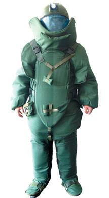 Bomb Disposal Suit (BD2009 Green, Navy Blue, Tan, ACU)