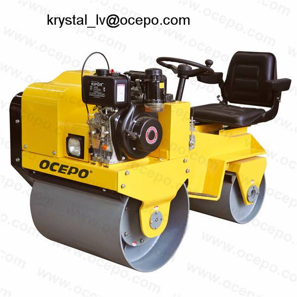 Ride on Double Drum  Road Roller