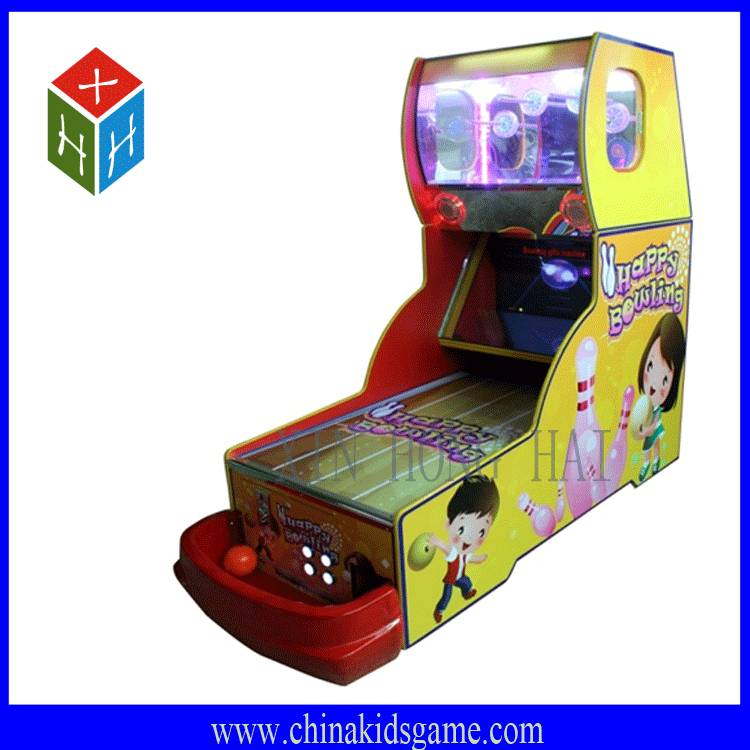 Game center classic game machine, magic bowling redemption game