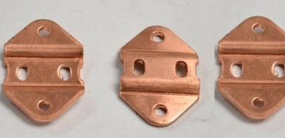 Copper pressed components pressed Stamped parts