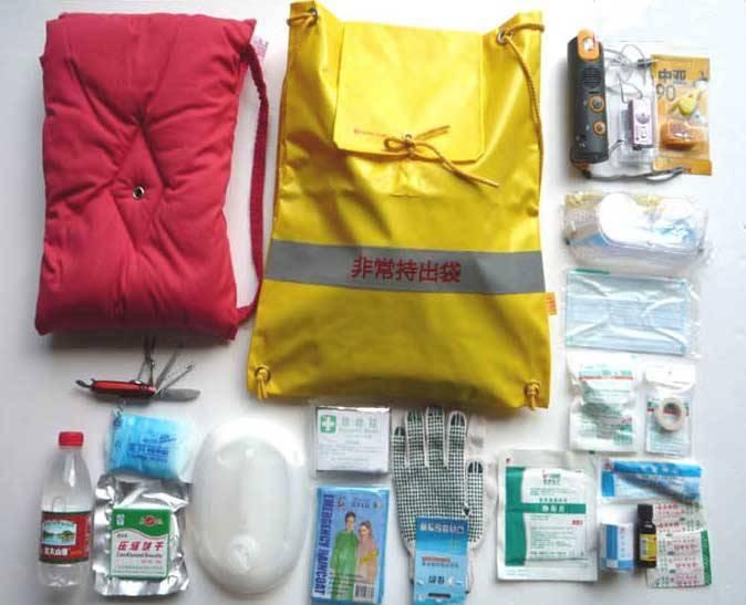 Earthquake survival kit,Survival kits,Emergency kit,Emergency preparedness kit,disaster preparedness