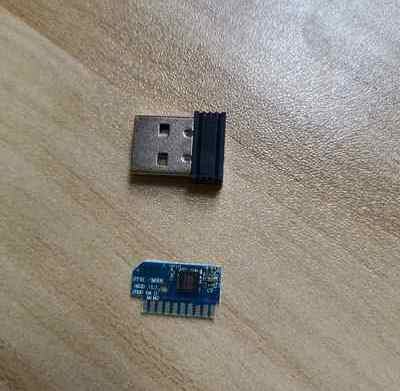 Bluetooth/2.4GHz 2 in 1 RF modules for wireless mouse
