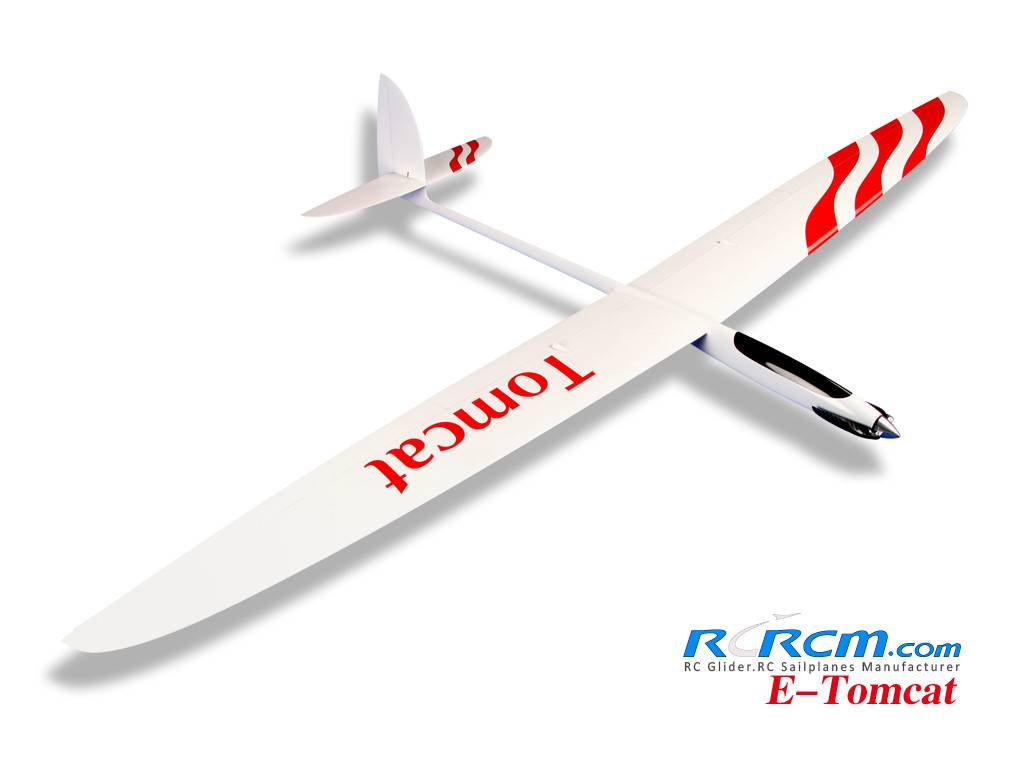 Tomcat-full composite rc sailplane of rcrcm