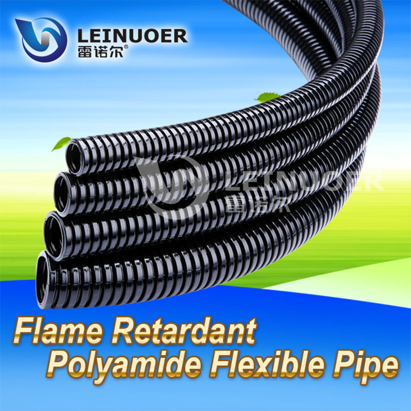 Flame Retardant PA Nylon Flexible Conduit