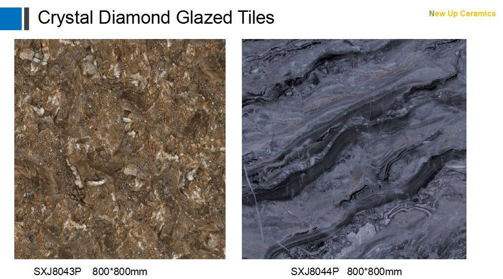 Grand lunxry Crystalized Good Quality Floor Glazed TIles 800*800