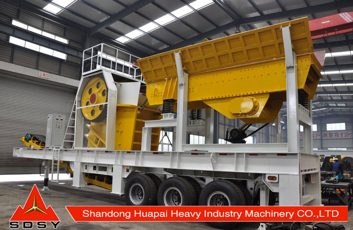 Best quality Mobile crusher,crusher machine with good price for sale