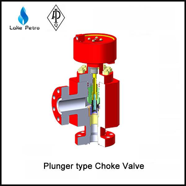 LAKE API 6A Plunger type Choke Valve In Oilfield
