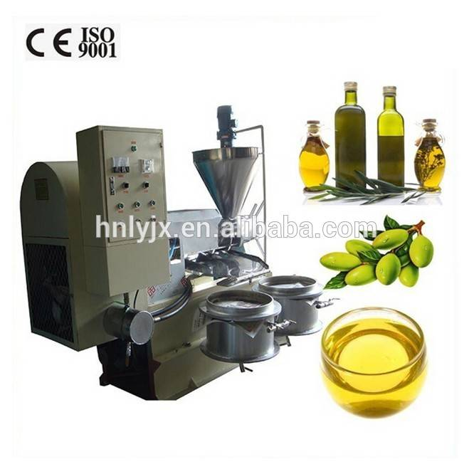 olive oil presser/simple oil press/generator motor oil press