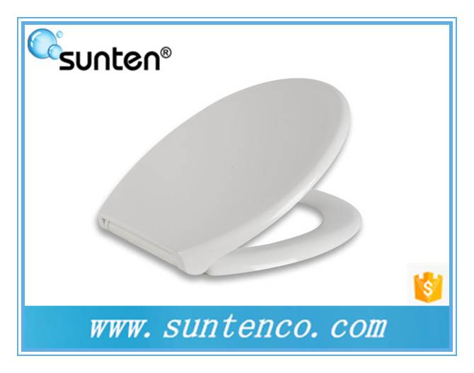 Xiamen Disposable Round Toilet Seat , Soft Closing Round Toilet Seat