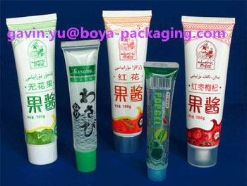 food packaging plastic tube offset printing hot sale