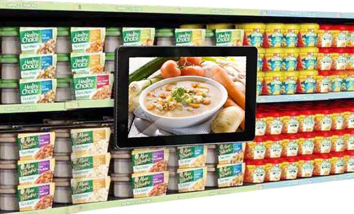 10 inch advertising digital signage player