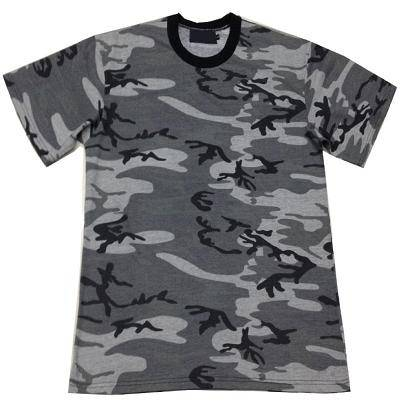 Men's short sleeve camouflage t shirt