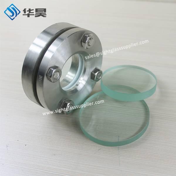 High Quality customized size quartz flange sight glass