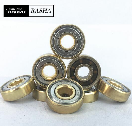 608zz Steel skating bearings professional inline skate bearing speed skating bearings roller skates