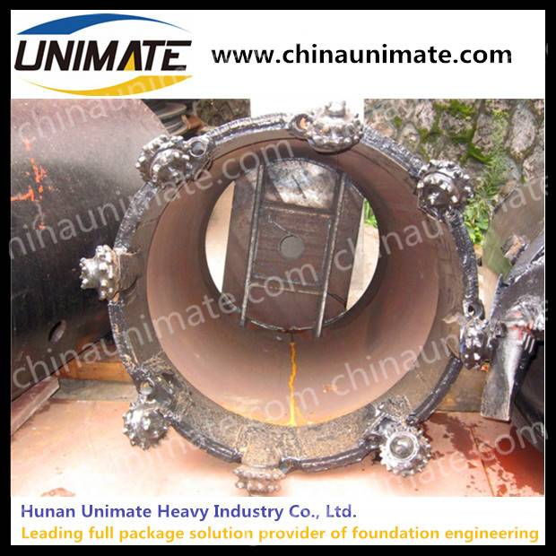 Core Barrel with Roller Bits Rock Core Barrels With Bullet Bit for Foundation Drilling Rig Drill Cor