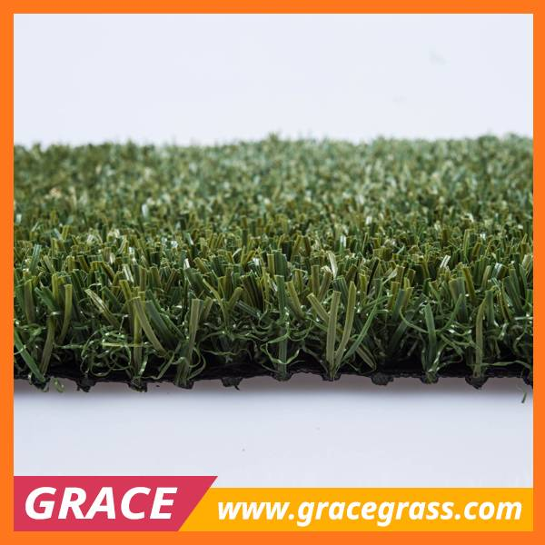 20mm PE Monofilament PU Backing Non infill Soccer Fake Grass