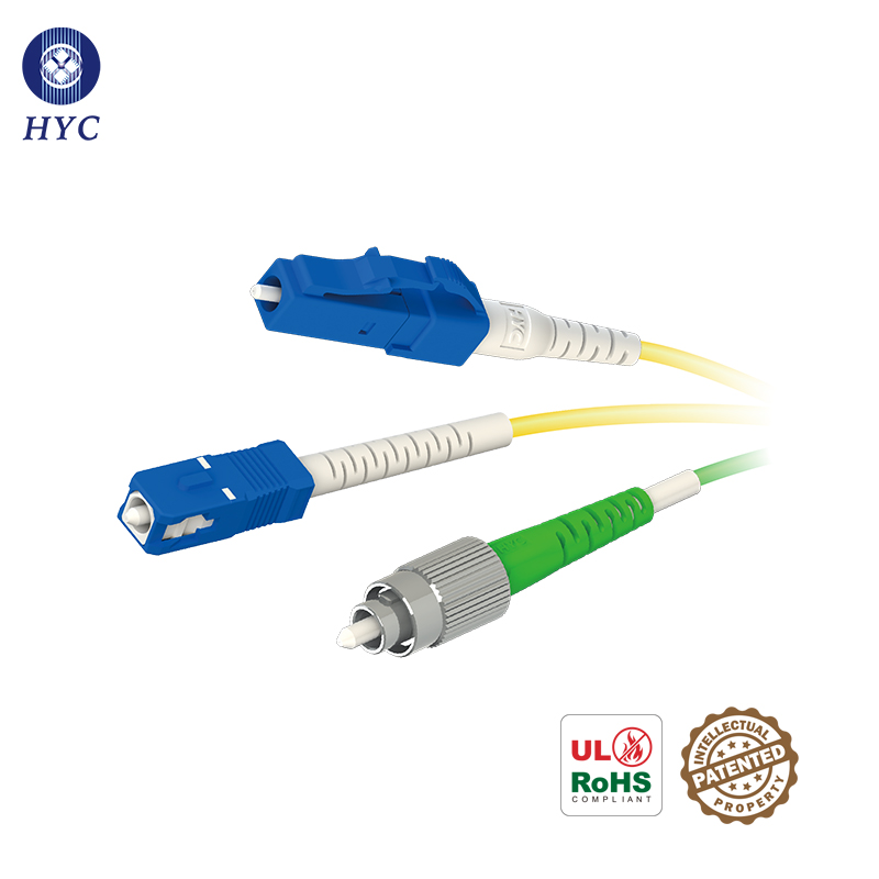 PM Optical Fiber Connector Jumper Polarization-Maintaining FC/SC/LC Fiber Optic Patch Cables