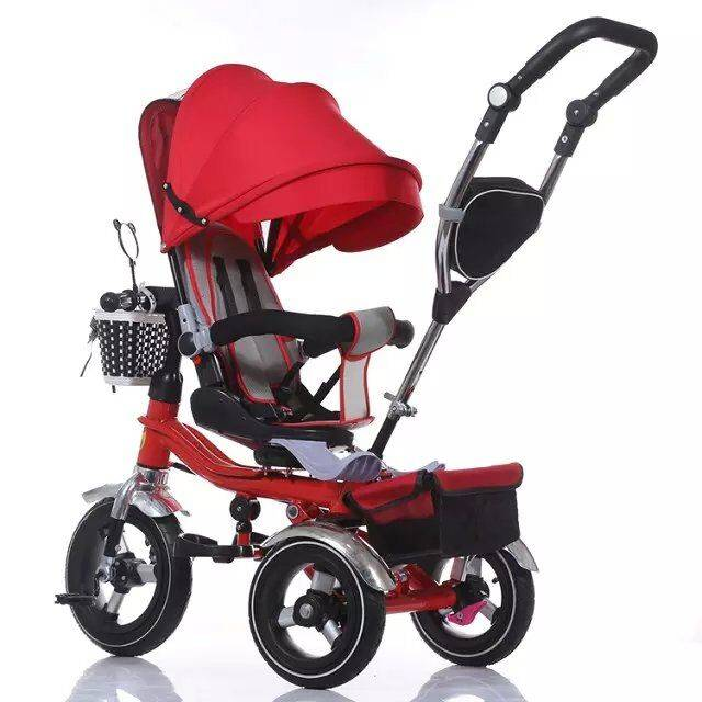 QJ-526 4 in 1 tricycle for 2 to 5 years old /3 wheels ride on / Qiangjiu Bicycle Group