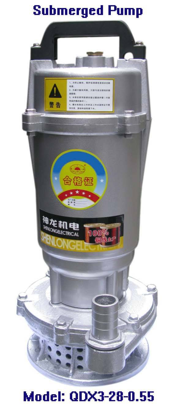Electric Submersible Pump-QDX3-28-0.55