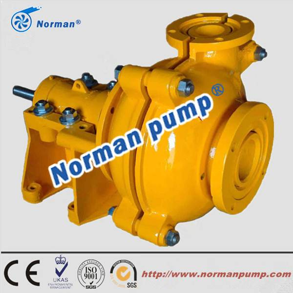 high efficient good performance slurry pump